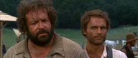 Bud Spencer and Terence Hill in They Call Me Trinity