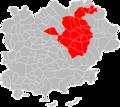 Localisation EPCI dracénoise dans le Var, France en 2019.png