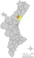 Localització de Tales respecte del País Valencià.png