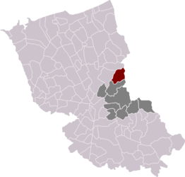 Houtkerque in the arrondissement of Dunkirk