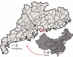 深圳经济特区在中国的地理位置