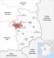 Locator map of Kanton Mehun-sur-Yèvre 2019.png
