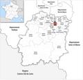 Locator map of Kanton Viry-Châtillon 2019.png