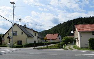 Log pri Brezovici Place in Inner Carniola, Slovenia