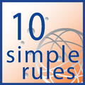 Logo of the Ten Simple Rules Collection at PLoS Computational Biology.png