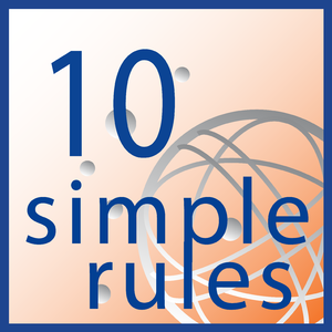 PLOS Computational Biology - The logo of the Ten Simple Rules series
