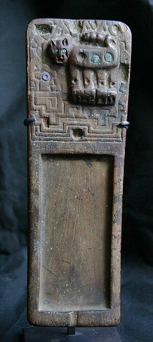 "Tiwanaku - Snuff tablet (""rapero""), Lombards Museum"