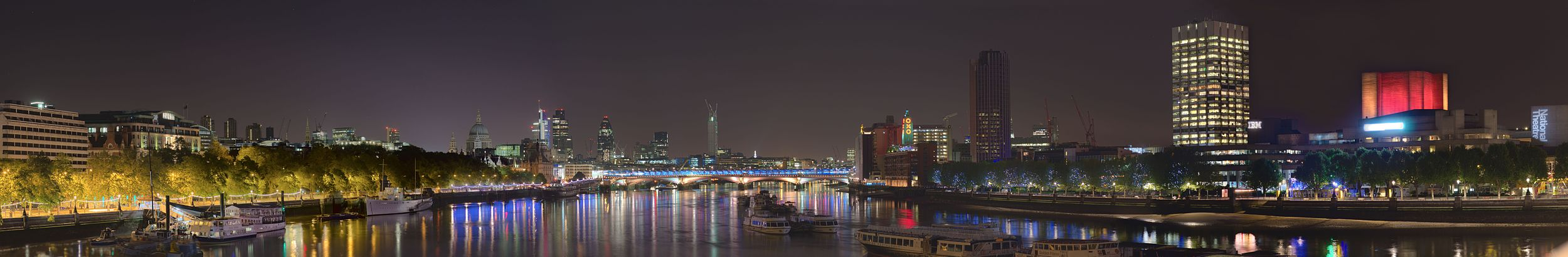 London's South Bank By Night.jpg
