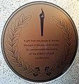 London-Woolwich, Royal Arsenal, sculpture Nike at Main Guard House 04.jpg