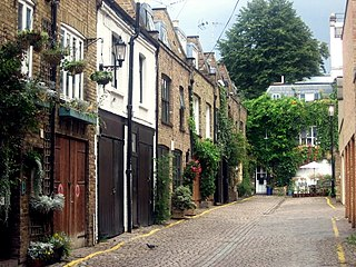 Notting Hill Area of London, England