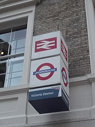 London Victoria Station - sign (8103900182).jpg