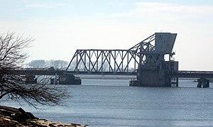Reynolds Channel - LIRR bridge over the channel