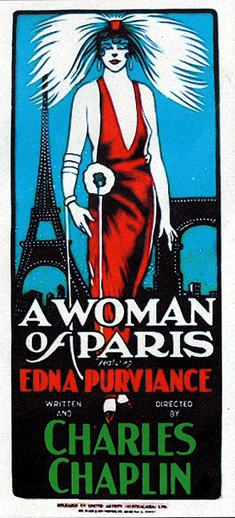 A Woman of Paris - Image: Long Poster of A Woman of Paris A Drama of Fate (1923)