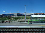 Looking out the left window on a trip from Union to Pearson, 2015 06 06 A (627) (18485825909).jpg