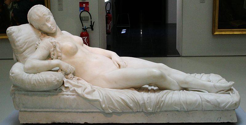 Archivo: Lorenzo Bartolini-Vénus couchée.JPG