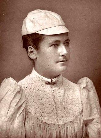 Lottie Dod - Image: Lottie Dod age 20