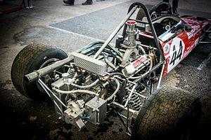 Lotus 59 - 1969 Lotus 59 Formula 3 997cc engine.