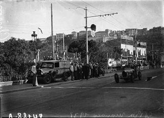1931 Monaco Grand Prix - Louis Chiron winning