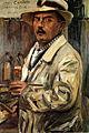 Lovis Corinth Selbstbildnis mit Strohhut 1913.jpg