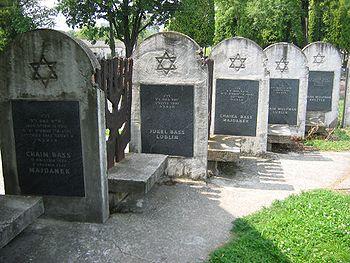 Polski: Nowy cmentarz żydowski