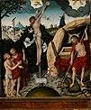 Lucas Cranach d. Ä. (Werkstatt) - Allegorie auf Gesetz und Gnade, Christus am Kreuz - WAF 173 - Bavarian State Painting Collections.jpg