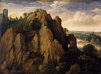 1582 in art - van Valckenborch – Mountainous Landscape, Rijksmuseum
