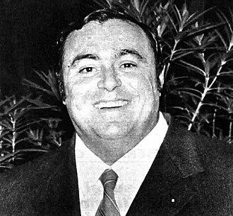 Luciano Pavarotti - Luciano Pavarotti in 1972