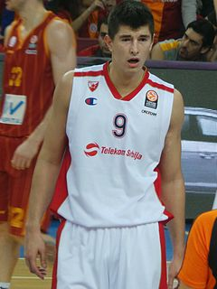 Luka Mitrović Serbian basketball player