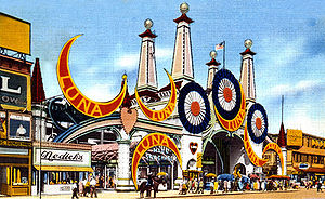 Luna Park, Coney Island (1903) - Luna Park entrance, early 20th century