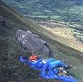 Lunch break on the Cat's Back - geograph.org.uk - 481859.jpg