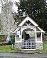 Lychgate at All Saints Church, Birling - geograph.org.uk - 108536.jpg