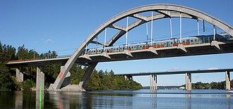 Mälaren Line - Stäketbron
