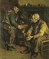 M. Schildt - Twee oude mannen bij een kachel - AB9312 - Cultural Heritage Agency of the Netherlands Art Collection.jpg