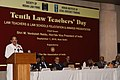 M. Venkaiah Naidu addressing the gathering after giving away the 10th Law Teachers' Day Awards 2018, organised by the Society of Indian Law Firms and Menon Institute of Legal Advocacy Training, in New Delhi (1).JPG