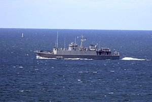 EML Ugandi (M315) - Image: M315 of the Estonian Navy (cropped)
