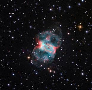 Aufnahme mit dem 81-cm-Spiegelteleskop des Mount-Lemmon-Observatoriums.