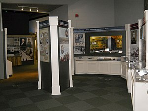 Mississippi Armed Forces Museum - Image: MAFM Exhibits of 19th Century Conflicts
