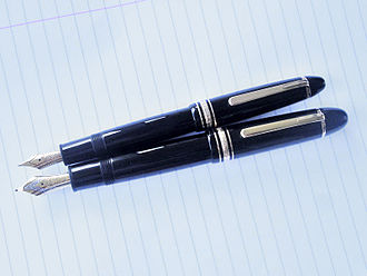 Montblanc (company) - Meisterstück 146 (top) and 149 fountain pens