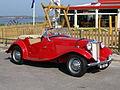MG TD (1953) , Dutch licence registration DL-03-98 pic1.JPG