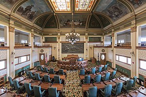Montana Senate - Image: MK01785 Montana State Capitol Senate