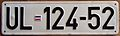 MONTENEGRO, ULCINJ -2000'S PREVIOUS SERIES PLATE - Flickr - woody1778a.jpg