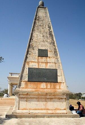 Michel Joachim Marie Raymond - Monsieur Raymond's tomb at Moosarambagh, Hyderabad, India.