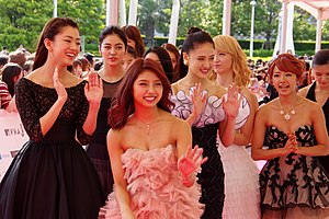 E-girls - E-girls at the 2014 MTV Video Music Awards Japan.