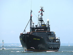 Sea Shepherd Conservation Society operations - Image: MV Steve Irwin Melbourne