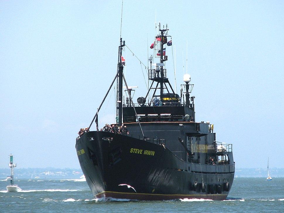 MV Steve Irwin Melbourne