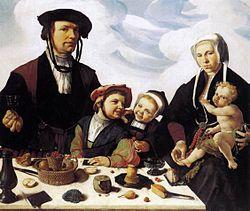 Хемскерк, Мартен ван: Family Portrait