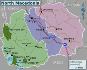 Macedonia country travel guide at wikivoyage macedonia regions publicscrutiny Image collections