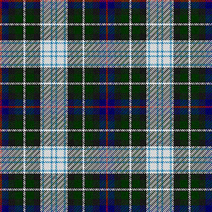 A representation of the Mackenzie dress tartan.