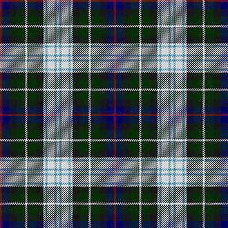 Clan Mackenzie - The Mackenzie dress tartan is a modern tartan.