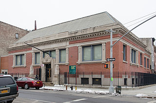 branch library of Brookly Public Library